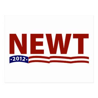 Newt 2012 postcard