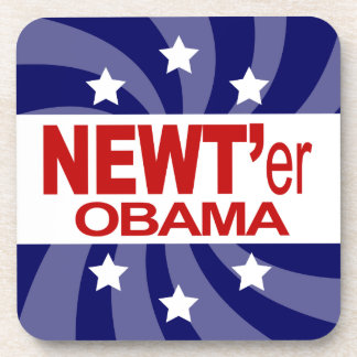 NEWT Gingrich 2012 Coasters
