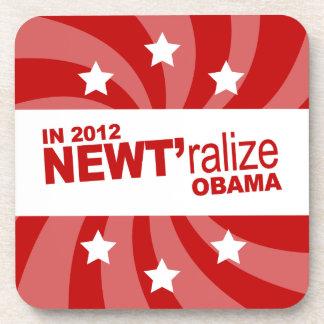 NEWT Gingrich 2012 Drink Coaster