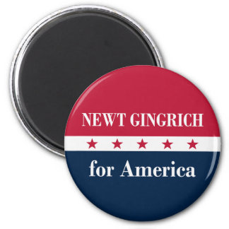 Newt Gingrich for America Refrigerator Magnet