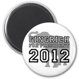 Newt Gingrich Fridge Magnet
