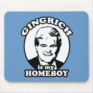 Newt Gingrich is my homeboy Mouse Mat