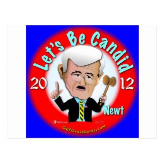 Newt Gingrich Postcard