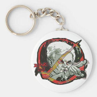 Newt Gingrich Scares Me Basic Round Button Key Ring