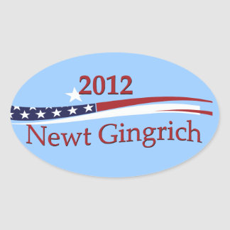 Newt Gingrich Stickers