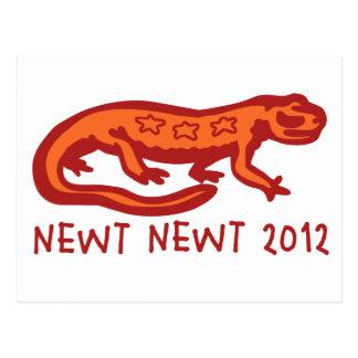 Newt Newt 2012 Postcard
