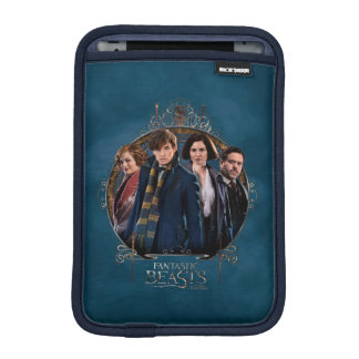 NEWT SCAMANDER™ and Company Art Nouveau Frame iPad Mini Sleeve