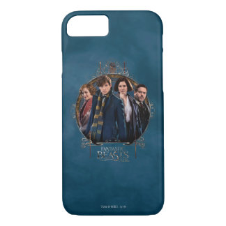 NEWT SCAMANDER™ and Company Art Nouveau Frame iPhone 8/7 Case