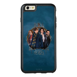 NEWT SCAMANDER™ and Company Art Nouveau Frame OtterBox iPhone 6/6s Plus Case