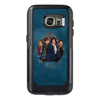 NEWT SCAMANDER™ and Company Art Nouveau Frame OtterBox Samsung Galaxy S7 Case