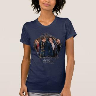 Newt Scamander and Company Art Nouveau Frame T-Shirt