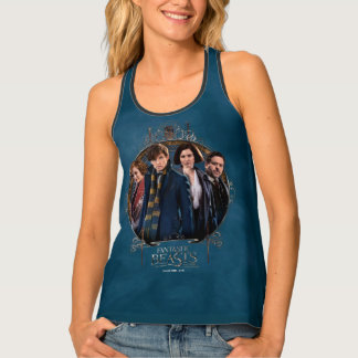 NEWT SCAMANDER™ and Company Art Nouveau Frame Tank Top