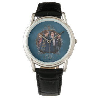 NEWT SCAMANDER™ and Company Art Nouveau Frame Watch