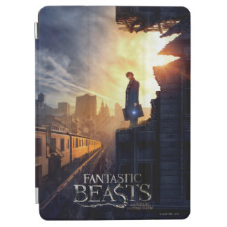 NEWT SCAMANDER™ in Destroyed Building iPad Air Cover