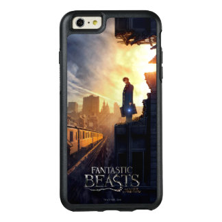 NEWT SCAMANDER™ in Destroyed Building OtterBox iPhone 6/6s Plus Case
