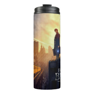 NEWT SCAMANDER™ in Destroyed Building Thermal Tumbler