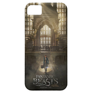 NEWT SCAMANDER™ in M.A.C.U.S.A. Headquarters Case For The iPhone 5