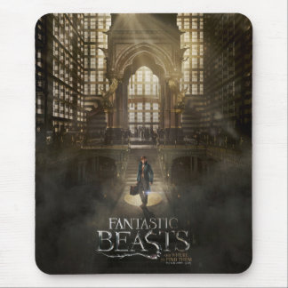 NEWT SCAMANDER™ in M.A.C.U.S.A. Headquarters Mouse Mat