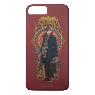 NEWT SCAMANDER™ Standing Art Nouveau Panel iPhone 8 Plus/7 Plus Case