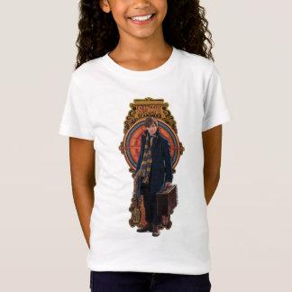NEWT SCAMANDER™ Standing Art Nouveau Panel T-Shirt