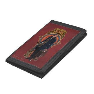 NEWT SCAMANDER™ Standing Art Nouveau Panel Tri-fold Wallet