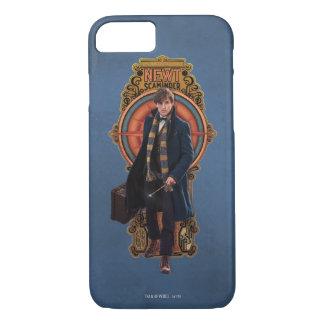 NEWT SCAMANDER™ Walking Art Nouveau Panel iPhone 8/7 Case