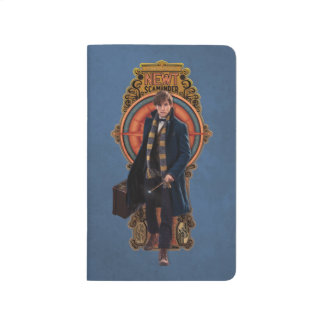 NEWT SCAMANDER™ Walking Art Nouveau Panel Journal
