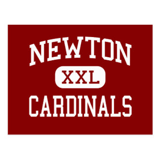 Newton - Cardinals - Senior - Newton Iowa Postcard