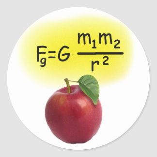 Newton Classic Round Sticker