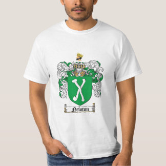 Newton Family Crest - Newton Coat of Arms T-Shirt