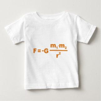 Newton gravitation formula gravity formula baby T-Shirt