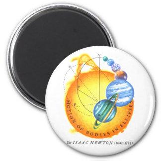 Newton Orbits 6 Cm Round Magnet