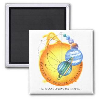 Newton Orbits Square Magnet