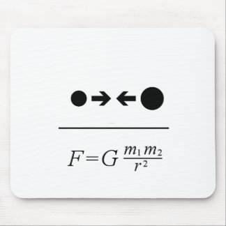 Newton s Law Of Gravitation Mouse Pads