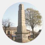 Newtownards war memorial stickers