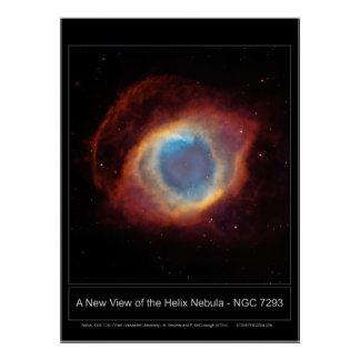 NewViewOfTheHelixNebula-NGC7293-20 Poster
