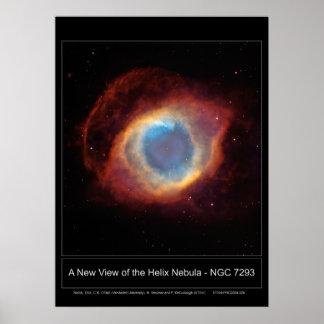 NewViewOfTheHelixNebula-NGC7293-20 Print