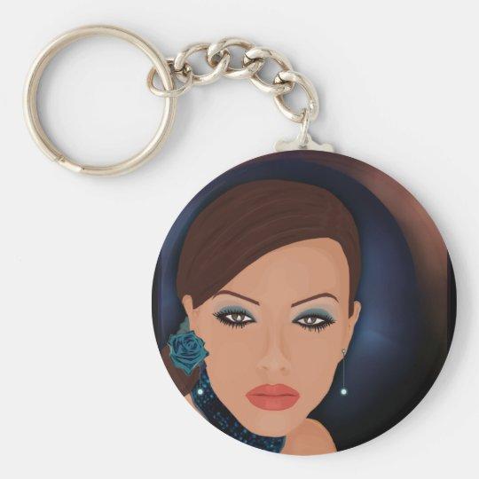 newwwwwdraw2nr7 basic round button key ring