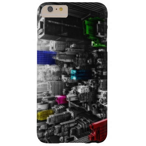 Newyork colorful barely there iPhone 6 plus case