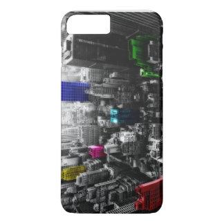Newyork colorful iPhone 7 plus case