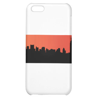 newyork skyline comic style cover for iPhone 5C