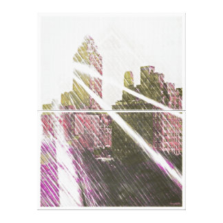 NEWYORK Sun-Rized Stretched Canvas Prints