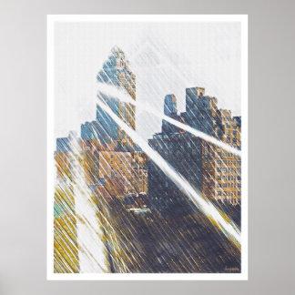 NEWYORK Sun-Rized Poster