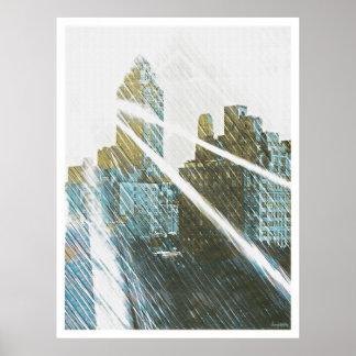 NEWYORK Sun-Rized Posters