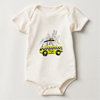 newyork taxi baby bodysuit