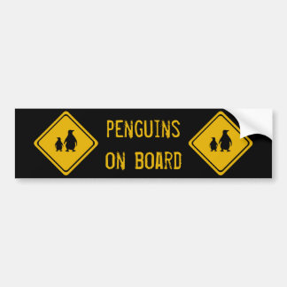 next 10 km penguins bumper sticker