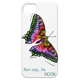 Next butterfly stopped the moon iPhone 5 cover