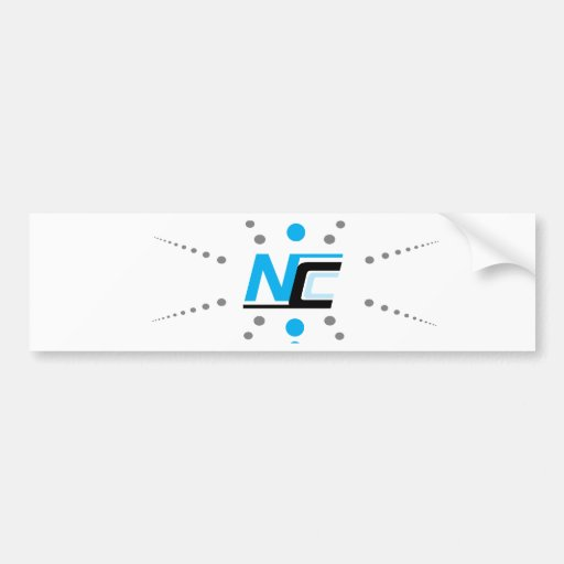Next Century Clothing Co. Badge Bumper Stickers