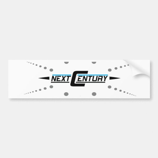 Next Century Clothing Co. Bumper Stickers