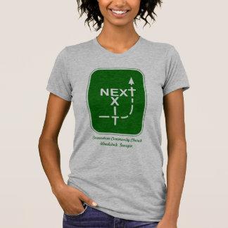 Next Exit Cornerstone Logo T-Shirt